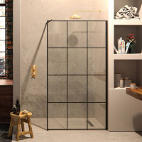Matki-ONE Framed Effect Wet Room Panel