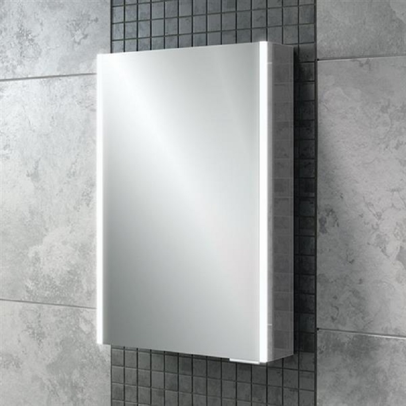 HIB Xenon 50 LED Aluminium Bathroom Cabinet