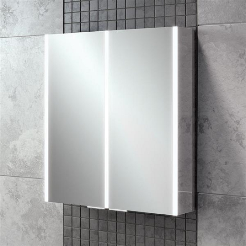 HIB Xenon 60 LED Aluminium Bathroom Cabinet