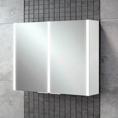 HIB Xenon 80 LED Aluminium Bathroom Cabinet