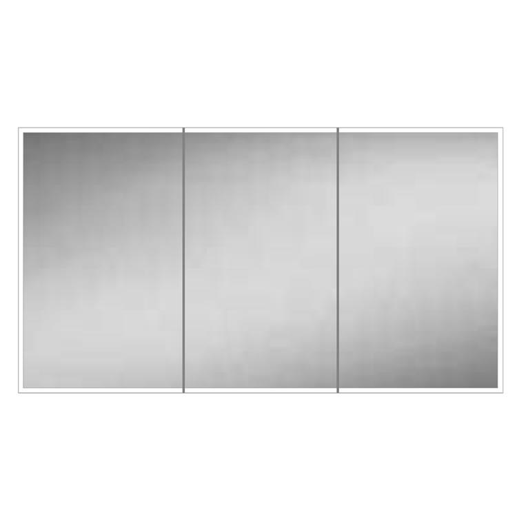 HIB Qubic 120 LED Aluminium Bathroom Cabinet