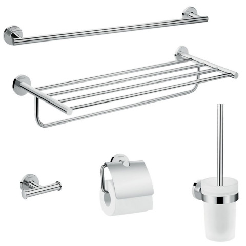 Hansgrohe Logis Universal Bath Accessory Set 5 in 1