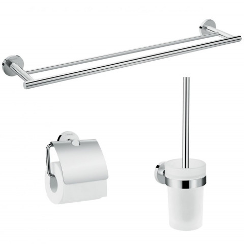 Hansgrohe Logis Universal Bath Accessory Basic Set 3 in 1