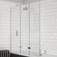 Kudos Inspire 3 Panel In-Fold Bath Screen