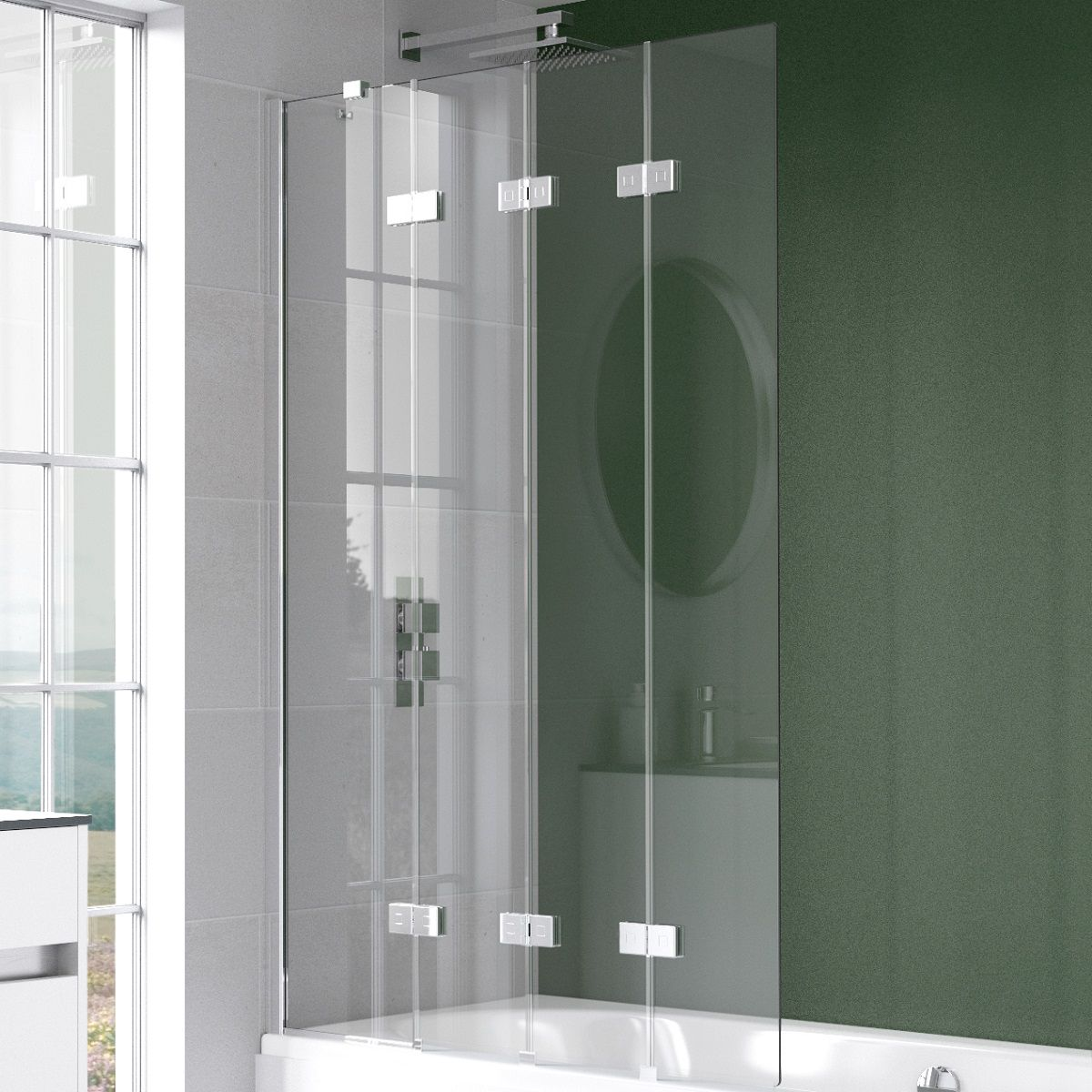 Kudos Pinnacle 8 Sliding Door For Recess Bathrooms