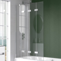 Kudos Inspire 4 Panel In-Fold Bath Screen