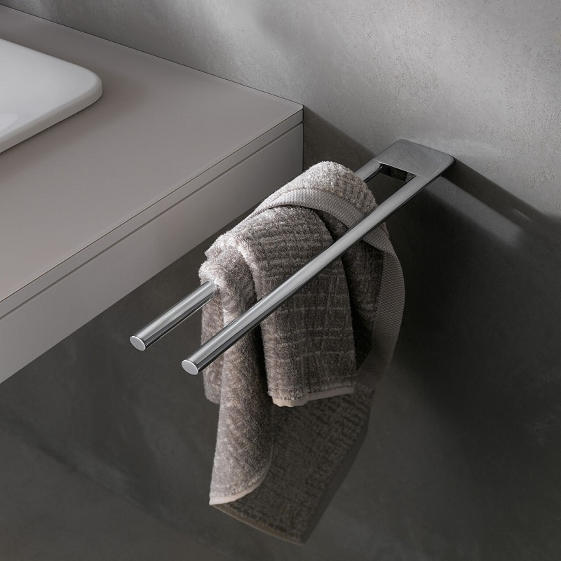 Keuco Edition 400 Double Towel Holder