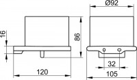 Keuco Edition 400 Lotion Dispenser
