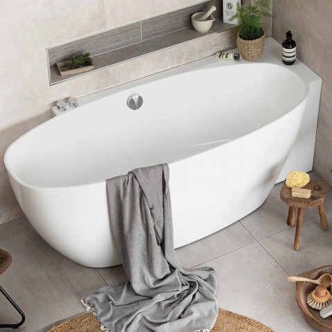 Waters Coast 1700mm Corner Set Bath