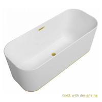 Villeroy & Boch Finion Illuminated Freestanding Bath
