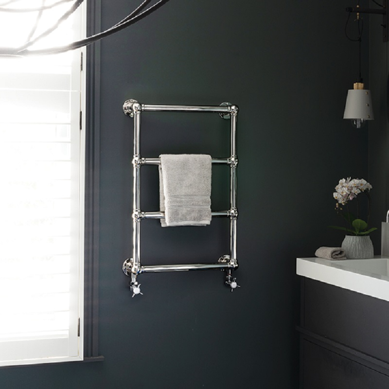 Bisque Buckingham Traditional Towel Rail