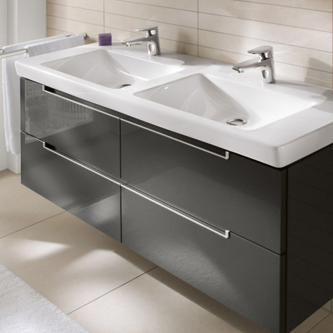 Villeroy & Boch Subway 2.0 XXL Double Washbasin Unit