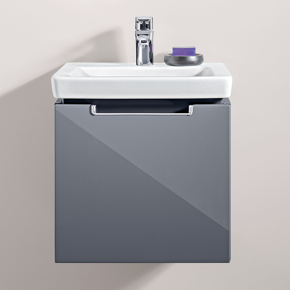 Villeroy & Boch Subway 2.0 Cloakroom 1 Drawer Vanity Unit