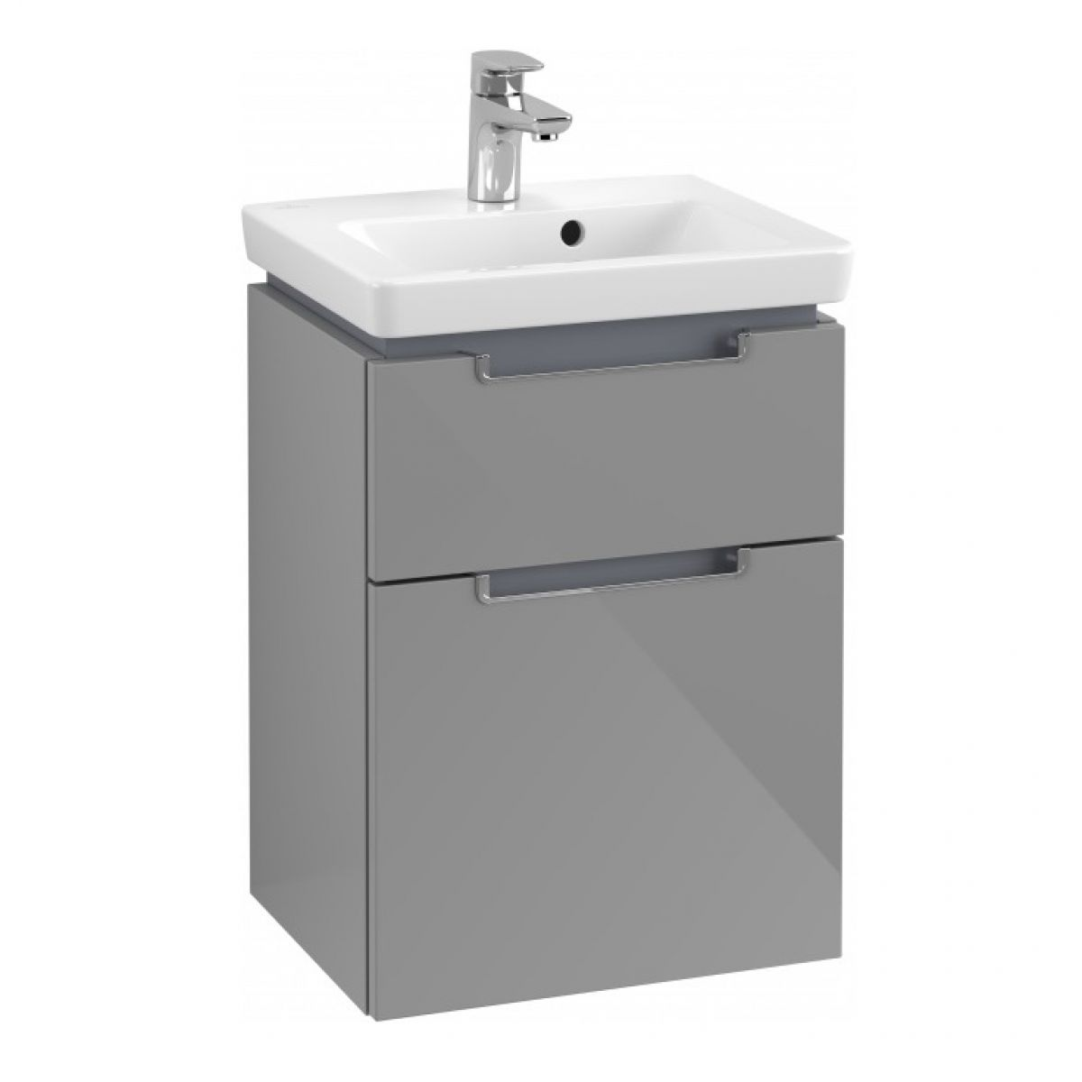 Villeroy & Boch Subway 2.0 XXL Deep Cloakroom 2 Drawer Vanity