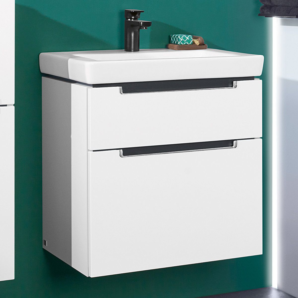 Villeroy & Boch Subway 2.0 XXL 2 Drawer Vanity