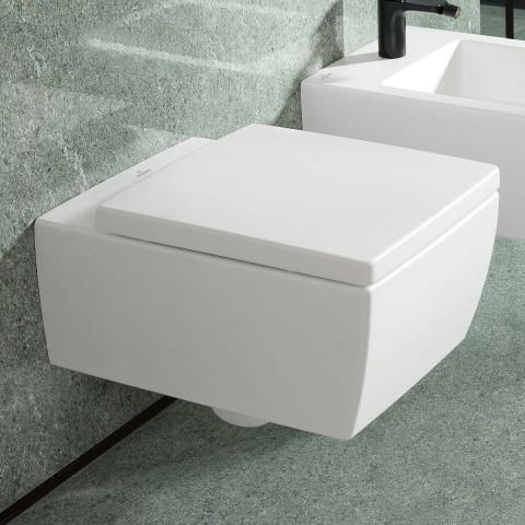 Villeroy & Boch Memento 2.0 Rimless Wall Hung Toilet