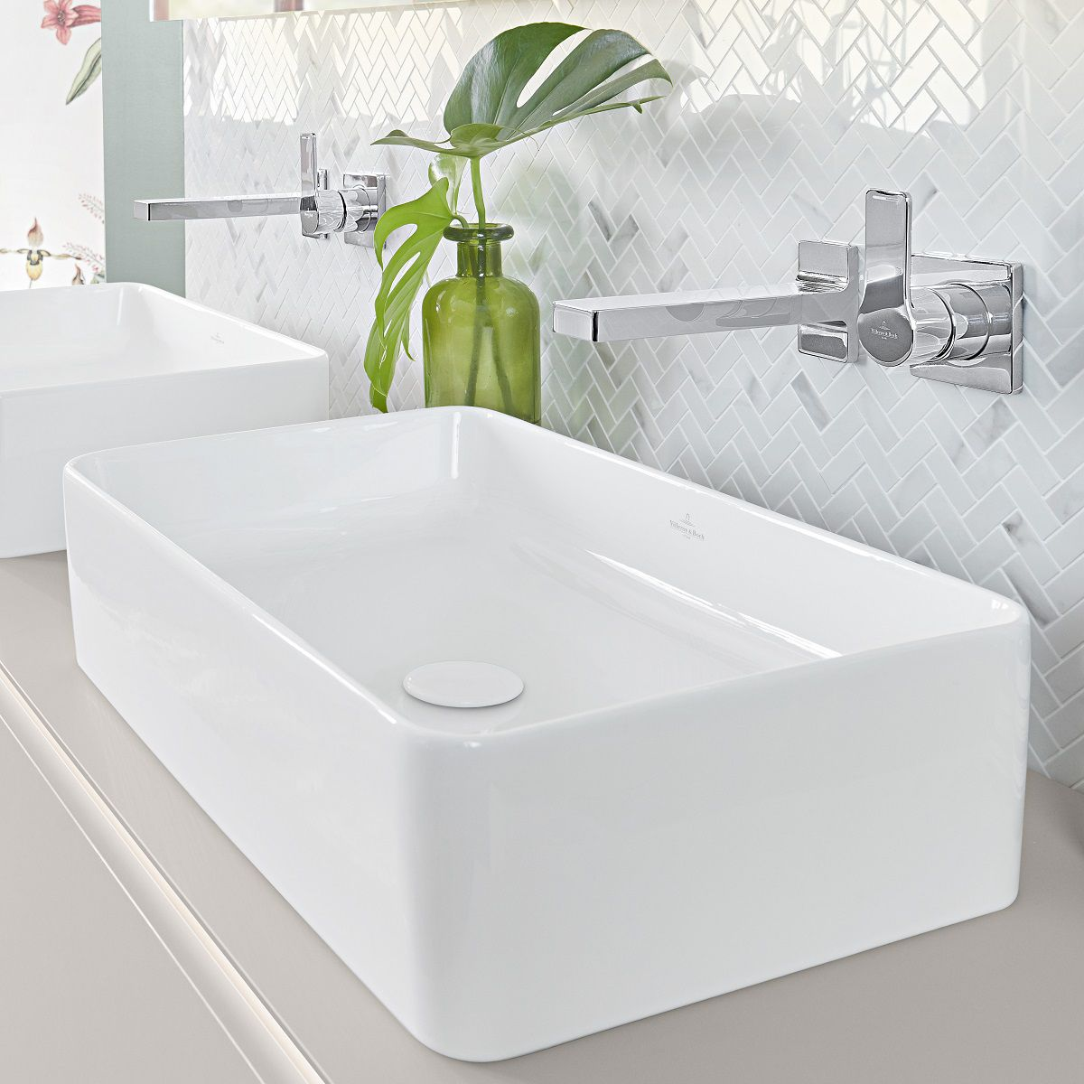 Villeroy & Boch Collaro Rectangular Countertop Basin