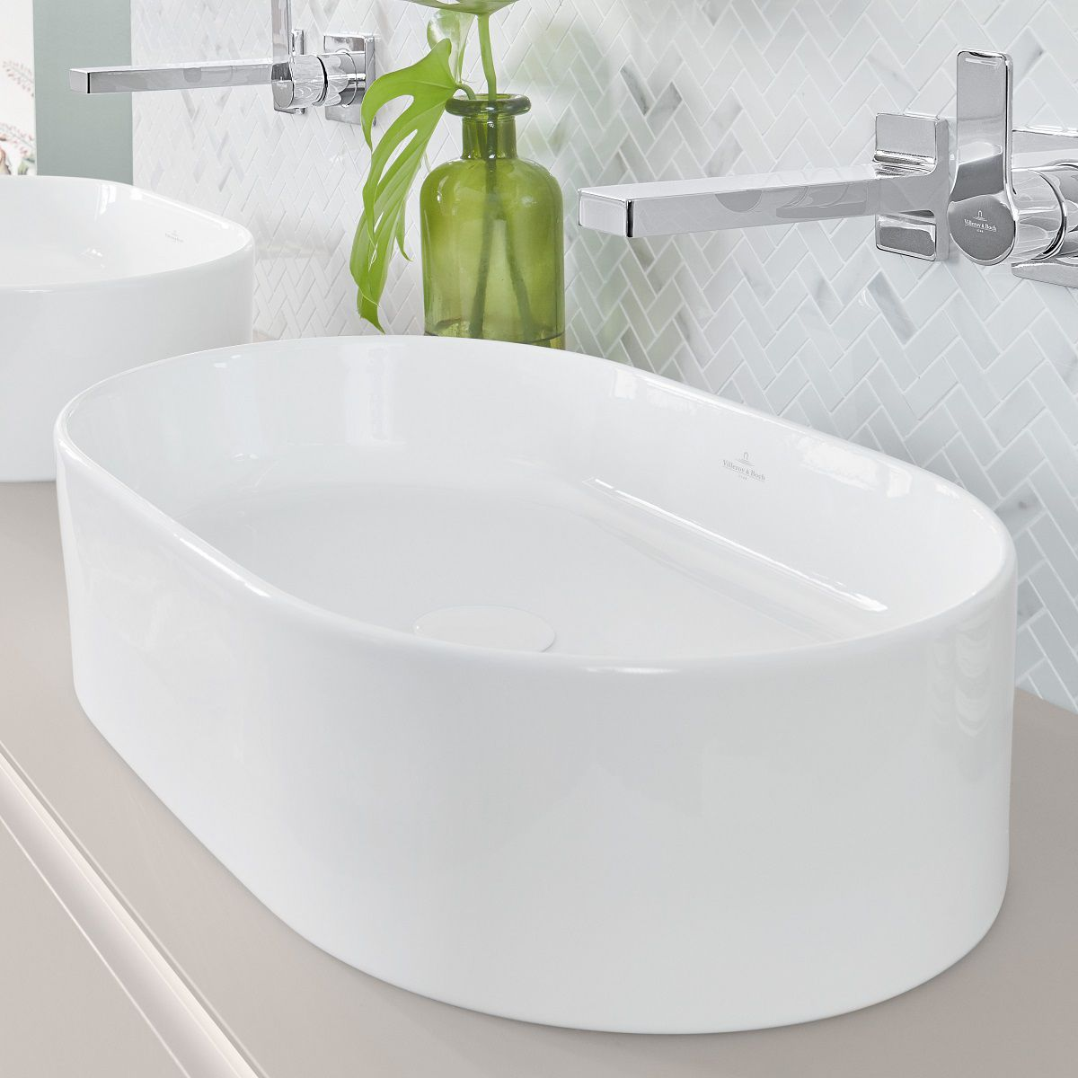 Villeroy & Boch Collaro Oval Countertop Basin