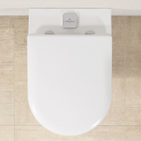 Villeroy & Boch Subway 2.0 Rimless Wall Hung WC with ViFresh and ViSeat