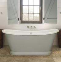 BC Designs 1700mm Acrylic Freestanding Boat Bath