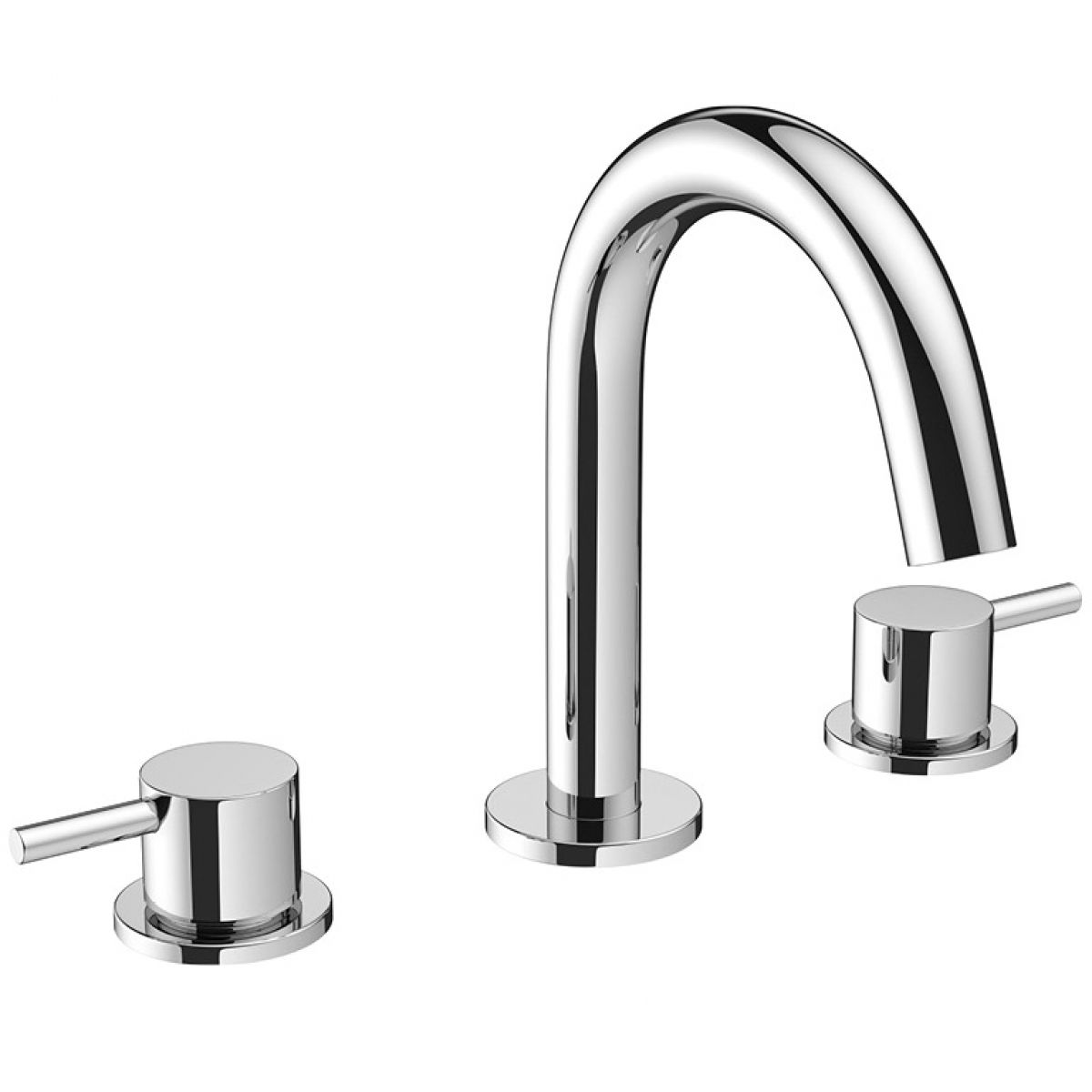 Crosswater MPRO Chrome 3 Hole Basin Tap