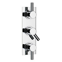 Swadling Absolute Twin Outlet Thermostatic Shower Mixer