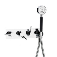Swadling Absolute 2 Outlet Thermostatic Shower Mixer with Hand Shower