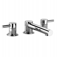 Swadling Absolute 3 Hole Deck Mounted Bath Mixer