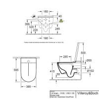 Villeroy & Boch ViClean I100 Shower Toilet