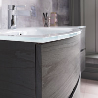 Crosswater Svelte 1200mm Vanity Unit With Mineral Marble Basin