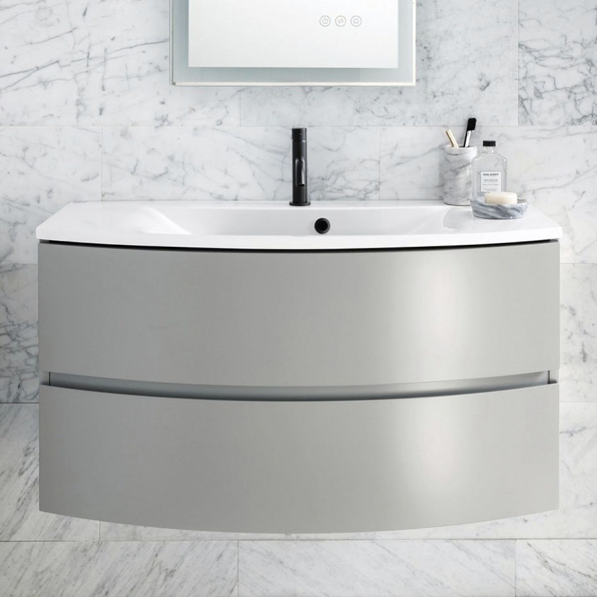 Crosswater Svelte 800mm Vanity Unit