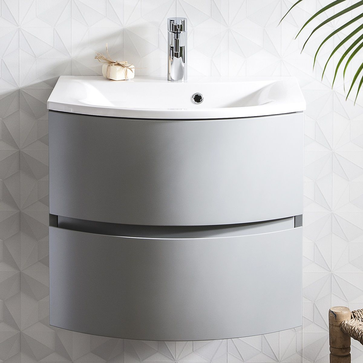 Crosswater Svelte 600mm Vanity Unit