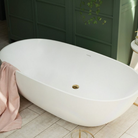 Waters Elements Cloud 1660mm Freestanding Bath