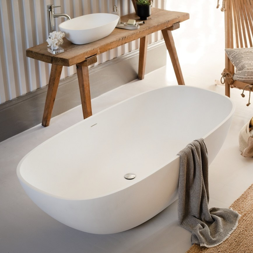 Waters Elements Dawn 1710mm Freestanding Bath