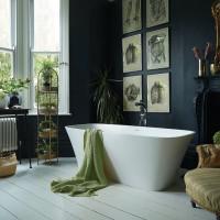 Waters Elements Haze 1700mm Freestanding Bath