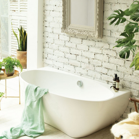 Waters Elements Evolve Back-To-Wall Bath