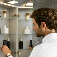 Keuco Royal 15 Single Door Mirror Cabinet