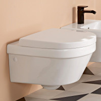 Villeroy & Boch Architectura Wall Mounted Rimless Concealed Fixing WC Combi Pack