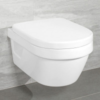 Villeroy & Boch Architectura Wall Mounted Compact Rimless WC Combi Pack