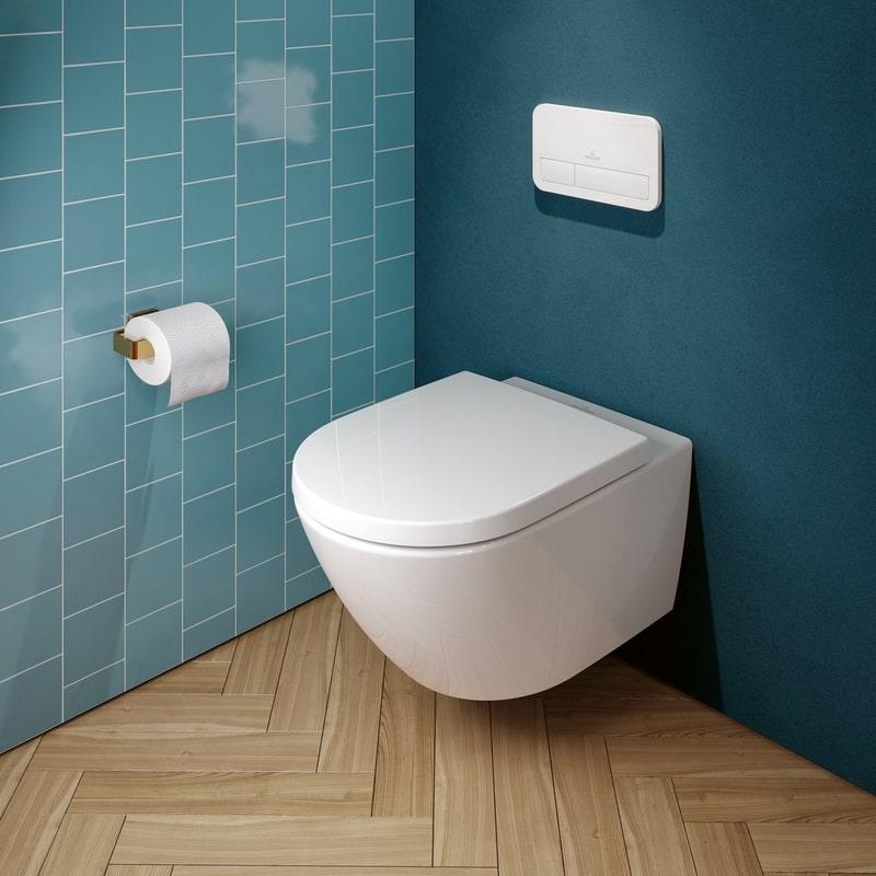 Villeroy & Boch Subway Rimless 3.0 Wall Hung Toilet With TwistFlush