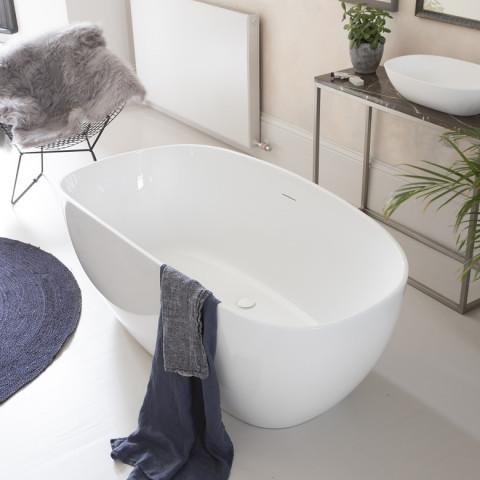 Waters I-Line Drift 1600mm Freestanding Bath